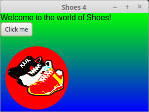 shoes 4 screenshot Linux